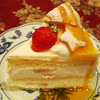 カフェ ド ミンガス - 料理写真:ホワイトチョコクッキーケーキ。