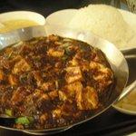 過門香 - 重慶式麻婆豆腐セット