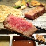 築地鉄板焼 Kurosawa - 黒毛和牛サーロイン