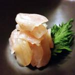 彩食献味粋込 - ナゴヤフグの昆布〆
