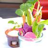 マザームーンカフェ - 料理写真:有機野菜のバーニャカウダ 1480円