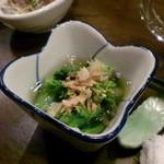 金魚屋 - 菜の花おひたし2012.3
