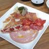 RITROVO - 料理写真:4種サラミ&プロシュート&レバーパテの盛り合わせ