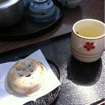 お石茶屋 - 梅香茶セット  370円