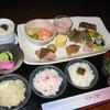 まきの - 料理写真:ランチ 桜にぎわい膳 デザート、飲み物付 税込1000円