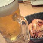 魚や一丁 町田店 - ビールとお通し