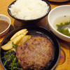 米沢亭 - 料理写真:群馬ではたらく社長のブログ(笑)-黒毛和牛ハンバーグ