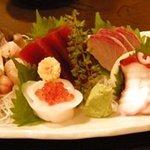 刺身居酒屋 海鮮丸 - 「お刺身盛り合わせ」