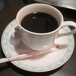 ガンジー - 12年4月初訪問 食後のホットコーヒー