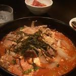 韓国料理居酒屋 ちぃーちゃん - 〆は、ユッケジャンクッパ 好みのご飯の量で♪