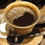 銀座 竹の庵 - コーヒー