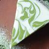 天 - 料理写真:抹茶のレアチーズケーキ