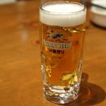 トレンタ - 生ビール ジョッキ 399円