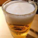 唐屋利久 - 生ビール