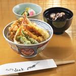 てんぷらと和食 山の上 - 天丼