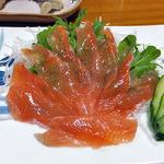 柳瀬温泉 - アメゴの刺身