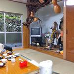柳瀬温泉 - 食事会場の広間