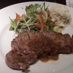 一 - ステーキハウス一の牛ロースステーキランチ(12.04)