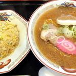 らーめん きちりん - チャーハンセット(950円)を味噌で