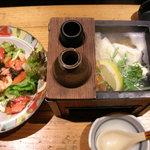 たんと - 彩りサラダとしまなみ湯豆腐