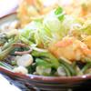 麺処 天めん - 料理写真:天ぷら/山菜 うどん