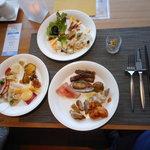 12430305 - 夕食の3皿