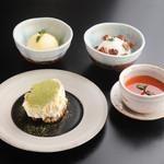 焼肉居酒屋 マルウシミート - 抹茶ティラミス ¥560-  生プリン ¥460-  アイスクリーム/シャーベット ¥270-