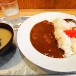 大沢食堂 - 極辛カレー 850円(ご飯少な目▲50円)