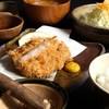 黒かつ亭 - 料理写真:1番人気の黒かつ亭ランチ!ヒレとロースが味わえます♪