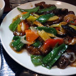 kei楽 - 国産豚レバーとピーマンの甘酢定食