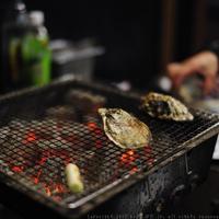 かき焼き小屋 一 - 焼き牡蠣