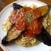モンキーヒル - 料理写真:ナスとミートのスパゲティー