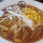 12523488 - 正油コーンラーメン(細麺) 700円