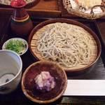 手打ち蕎麦 東風 - 辛み大根のざるおろし(\1100)