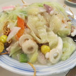 ラーメンロッジ - 阿蘇(皿うどん)