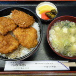 藤屋食堂 - ソースカツ丼 \800