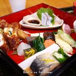厨・吉左右  - 料理写真:吉左右膳 1500円