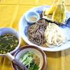 麦ぼうず - 料理写真:合盛りすったてうどん天ぷらセット