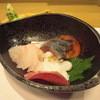 鮨嵩 - 料理写真:アコウ、活だこ、きずし。