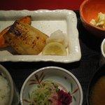 北の海道 - 焼き魚二種 ランチ