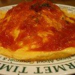 レザミ - トマトソースのリバースオムライス