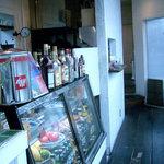 アシエンダ・カフェ - 一階店内