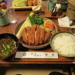 松村 - 極上ロースかつ定食