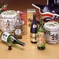 土佐を代表する酒蔵の日本酒を揃えています。