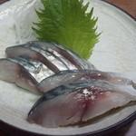 角一 - 料理写真:2012.4 しめさば(390円)
