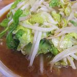 ラーメンやまき - 味噌ラーメン(野菜)