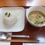 和sian-cafe aimaki - グリーンカレー