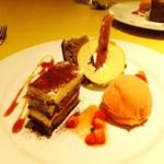 カルミネ - デザート盛り合わせ