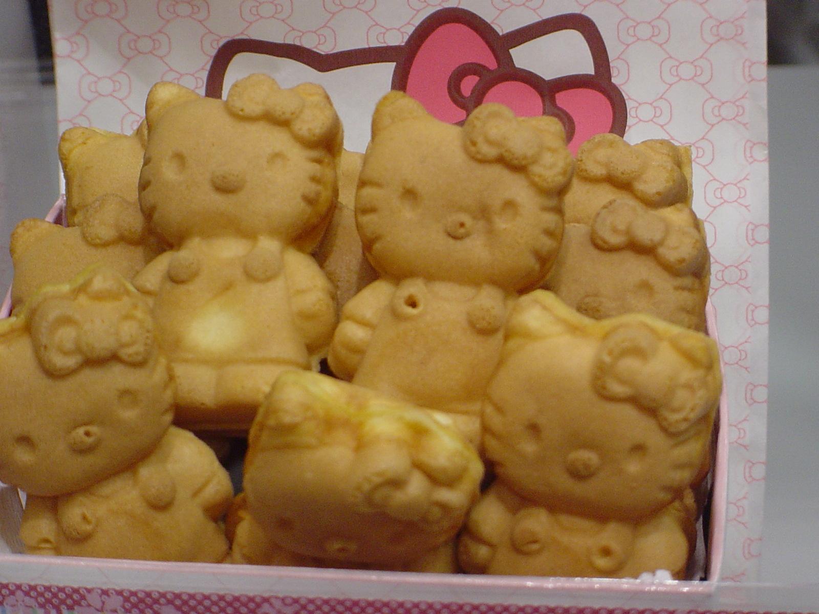 HELLO KITTYのこんがり焼 ダイバーシティ東京プラザ店