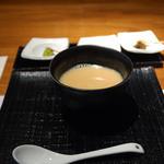 茅乃舎 - 大地の恵みのスープ(今月は山芋)